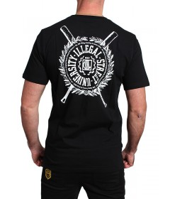 Diil Gang T-shirt Shield Black