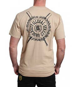 Diil Gang T-shirt Shield Beige