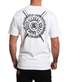 Diil Gang T-shirt Shield White