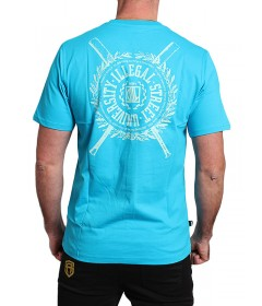 Diil Gang T-shirt Shield Blue