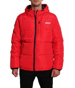 Prosto WInter Jacket Adament Red