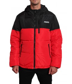 Prosto WInter Jacket Adament Black & Red