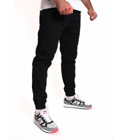 Jigga Wear Jogger Crown Black