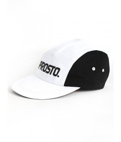 Prosto Fatcap Strict 5panels Black/White