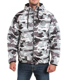Mass Denim Jacket Base Winter Camo