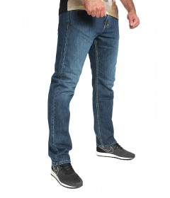 Mass Denim Classics Jeans Straight Fit Dark Blue