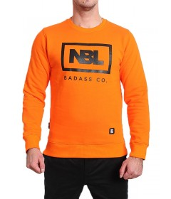 New Bad Line Crewneck Icon Orange