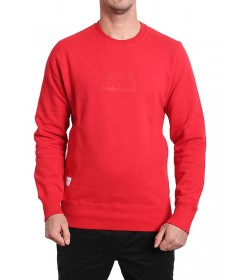 Elade Crewneck Box Logo 3D Red