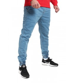 Elade Jogger Pants Light Blue Denim
