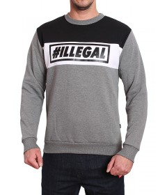 Illegal Crewneck Illegal 3 Grey