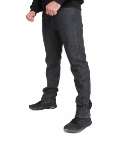 Mass Denim Classics Jeans Straight Fit Black Rinse