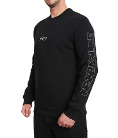 New Bad Line Crewneck Sleeve Black