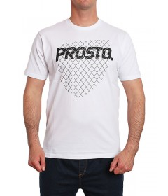 Prosto T-Shirt Klasyk Barrier White