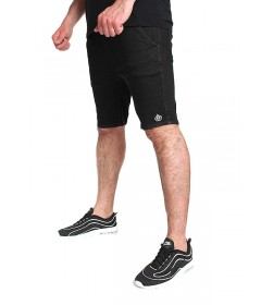 Elade Jogger Shorts Black Denim