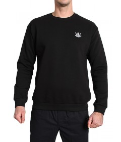 Jigga Wear Crewneck Crown Black