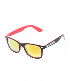 New Bad Line Okulary Classic Inside Black-Pink Flash Red