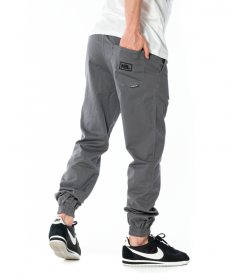New Bad Line Pants Chino Jogger Icon Light Grey